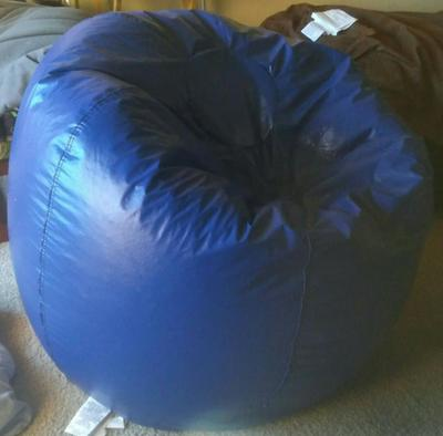 Groovy X Rocker 132 Round Extra Large Shiny Bean Bag Multiple Colors Spiritservingveterans Wood Chair Design Ideas Spiritservingveteransorg