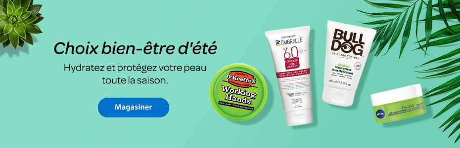 Choix bien-être d'été - Hydratez et protégez votre peau toute la saison. - Magasiner