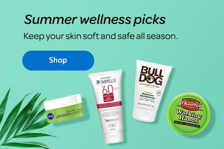 51ee974ae80b Summer wellness picks - Keep your skin soft and safe all season. - Shop