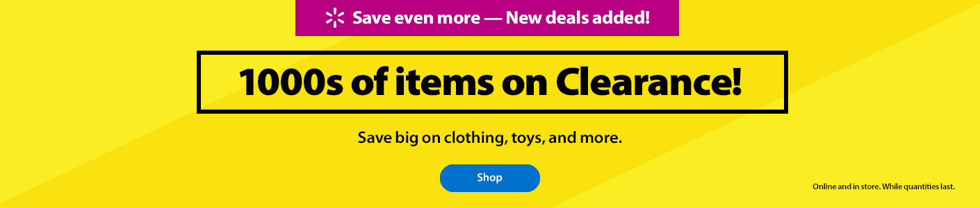 b3a49d0072 Save even more – New deals added! 1000s of items on Clearance! Save big