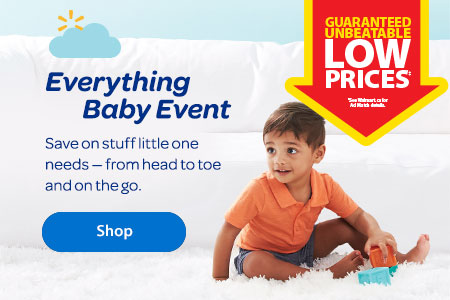 The Everything Baby Event. Save on stuff little one needs — from head to toe and on the go. - Shop