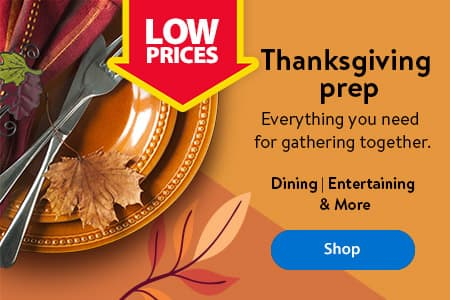 Thanksgiving prep. Everything you need for gathering together. Dining | Entertaining | & More - Shop