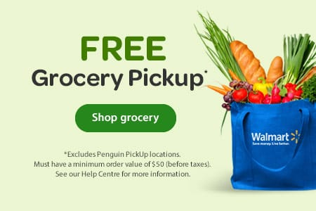 FREE Grocery Pickup* - *Excludes Penguin PickUp locations. Must have a minimum order value of $50 (before taxes). See our Help Centre for more information. - Shop grocery