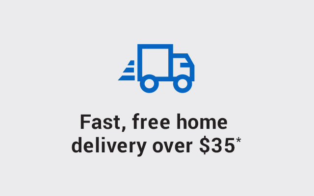 NEW — fast, free delivery over $35*