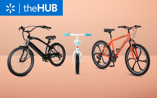 From city cruisers to mountain bikes, we've found wheels for everyone.