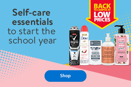 Back to campus at low prices – Self-care essentials to start the school year – Shop
