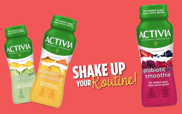 Probiotic smoothie