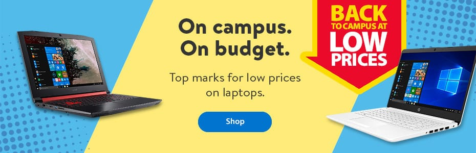 Back to campus at low prices - On campus. On budget. Top marks for low prices on laptops - Shop