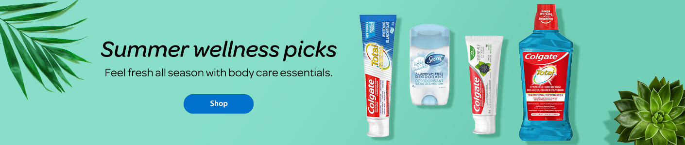 Summer wellness picks - Feel fresh all season with body care essentials. - Shop