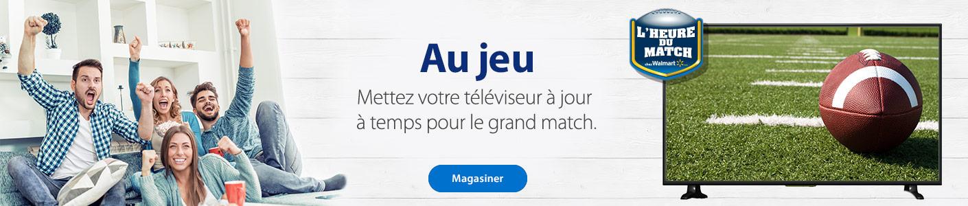 Au jeu - Mettez votre téléviseur à jour à temps pour le grand match - Magaisner