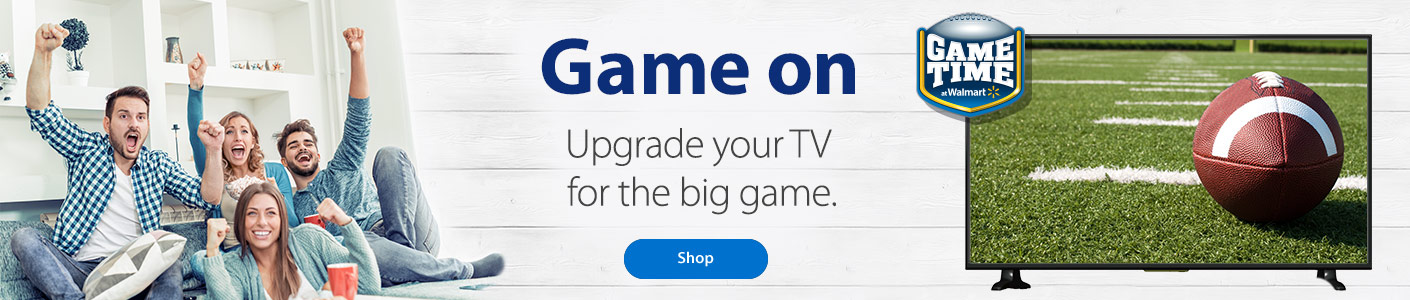 Game on - Upgrade your TV for the big game. - Shop