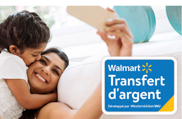 Économisez 10 % sur les frais d'envoi lorsque vous utilisez le service de transfert d'argent en quelques minutes* de Walmart