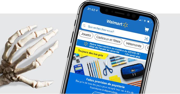 Téléchargez l'application - La façon simple et rapide de magasiner à Walmart.ca. - En savoir plus
