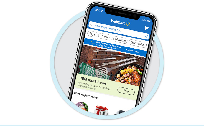 Download our app - It's the easiest & fastest way to shop Walmart.ca. > Learn more
