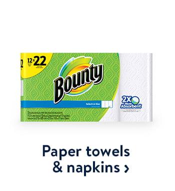 Paper towel & napkins