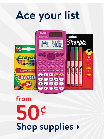 Rollback on the supplies you need