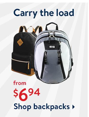 Rollbacks on Backpacks