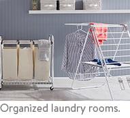 Shop laundry room organization