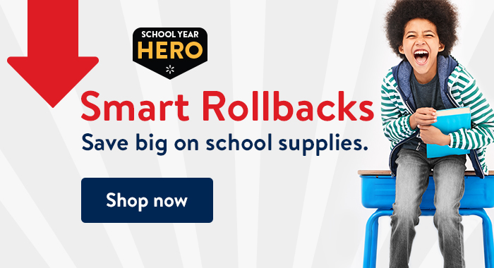 Shop Rollbacks on everything for school